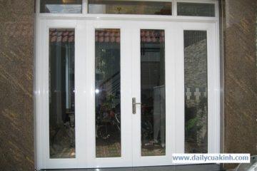 Lắp cửa kính 4 cánh giá rẻ tại Hà Nội