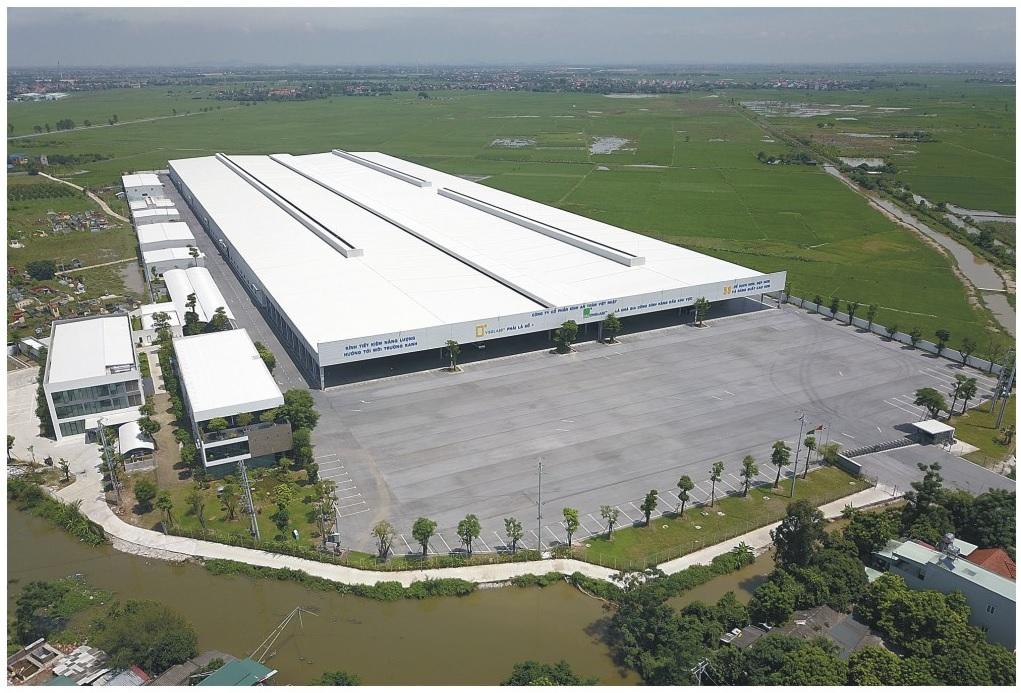 Nhà máy sản xuất kính Hải Long