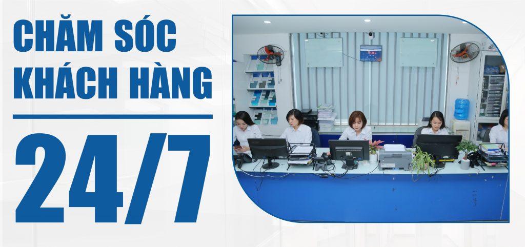 Tổng đài Chăm sóc khách hàng của Sao Việt hoạt động 24/7 đảm bảo xử lý kịp thời yêu cầu khách hàng